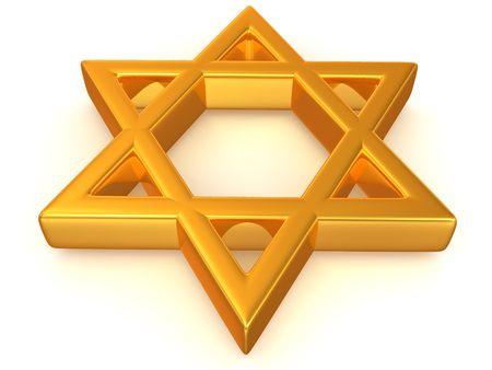 Symbol of Israel. 3d Stock Photo - 5568426