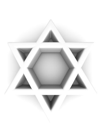 Symbol of Israel. 3d Stock Photo - 5568439