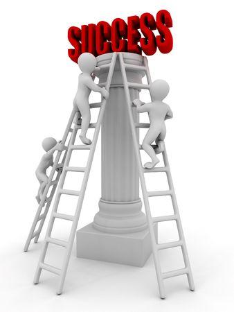 Success. 3d Stock Photo - 6088623