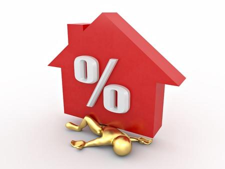 hypothec: man crushed percent of hypothec