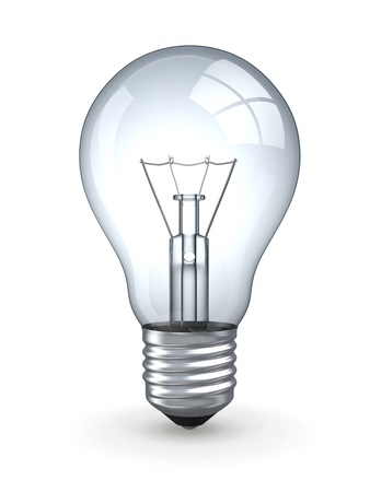 idea light bulb: 1
