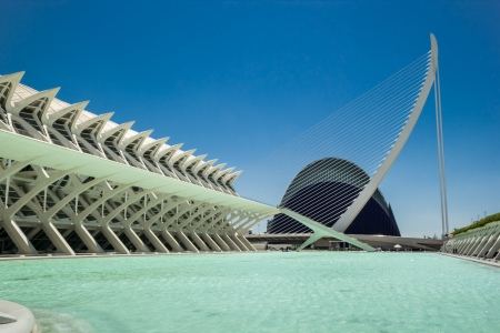 popular science: The city of arts and sciences In Valencia, Spain Editorial