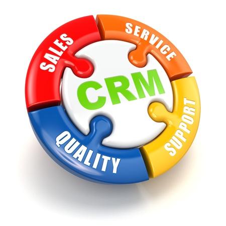 顧客関係のマーケティングの概念 写真素材