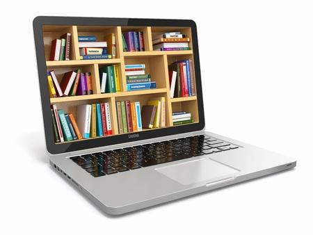 learning computer: Biblioteca educazione o internet E-learning