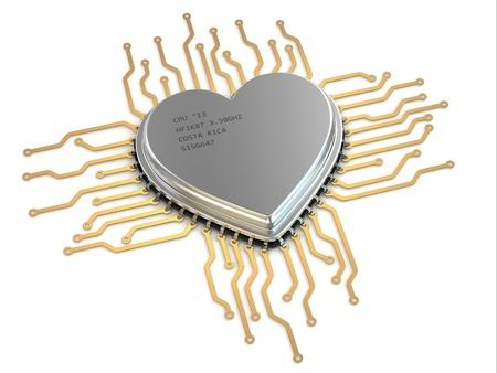 processor: My favorite processor  Cpu as heart  3d