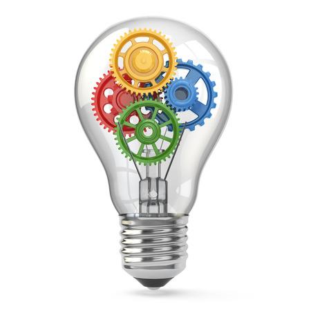 電球と歯車