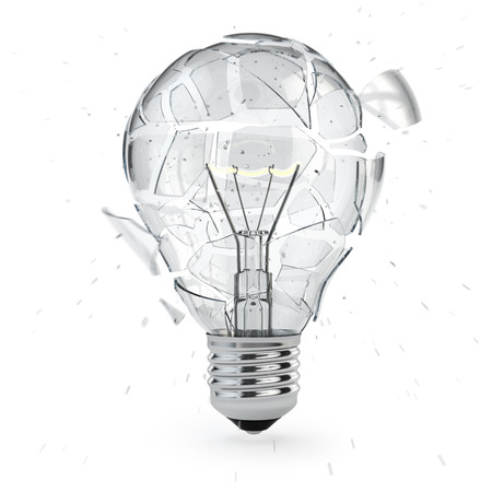 idea lamp: Light bulb