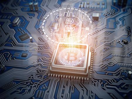 Nucleo Di Bitcoin Immagini e Fotos Stock - Alamy