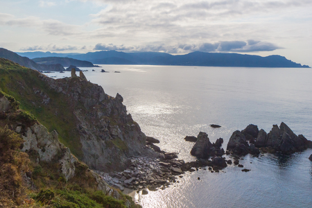 Cliffs of Loiba, A Coruna, Galicia, Spain