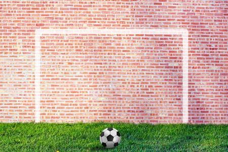 Street Soccer Illustration illustration