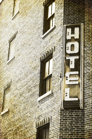 Vintage Picture Design - Traditional American Hotel photo