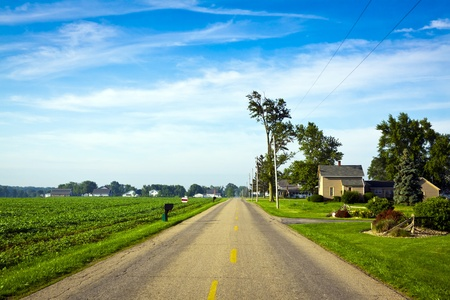 American Country Road Stock Photo - 9998314