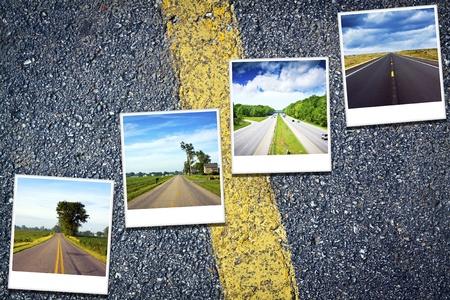 Reizen Achtergrond Stockfoto