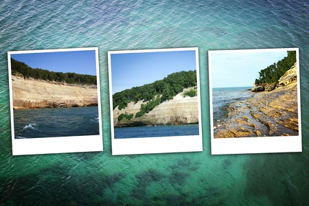 Upper Peninsula Michigan Background photo