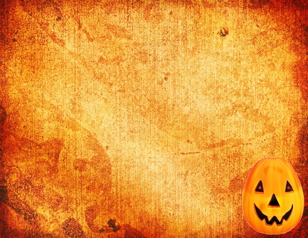 vintage postcard: Halloween Background Stock Photo