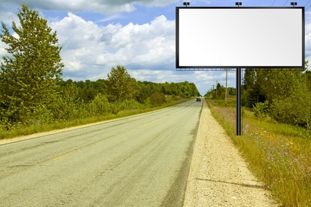 Billboard on American Country Road photo
