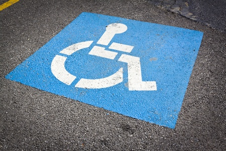 Wheelchair Sign  photo
