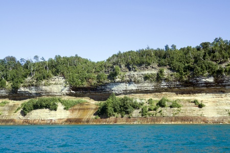 Upper Peninsula (Pictured Rocks) - Michigan, USA  photo