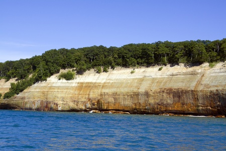 Upper Peninsula (Pictured Rocks) - Michigan, USA  Stock Photo - 11272226