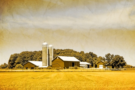 Old Picture Design - American Country  photo