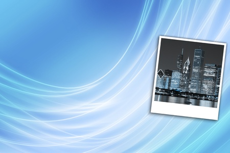 Cityscape at Night Background  photo