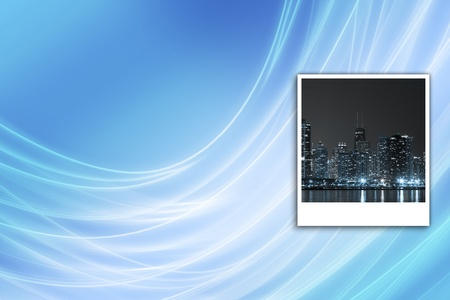 Cityscape at Night Background  photo
