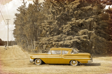 Vintage Design - Oldtimer photo