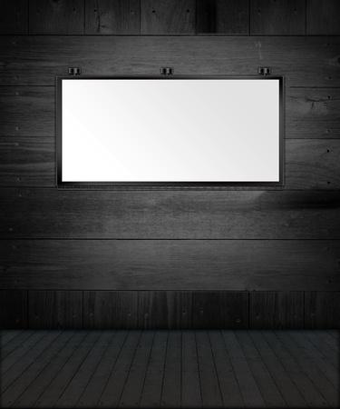 Inter Design - Dark Room Stock Photo - 12569353