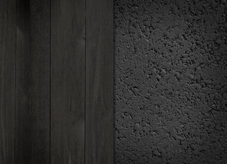 Dark and Wood Asphalt Background Stock Photo - 12573360