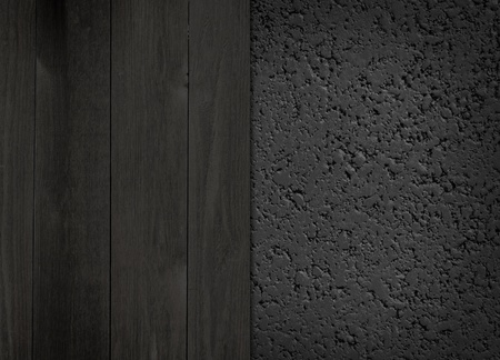Donker en Wood Asfalt Achtergrond Stockfoto - 12573360