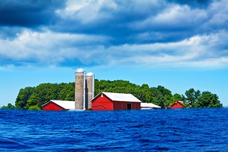 Flood on american country Stock Photo - 12830058