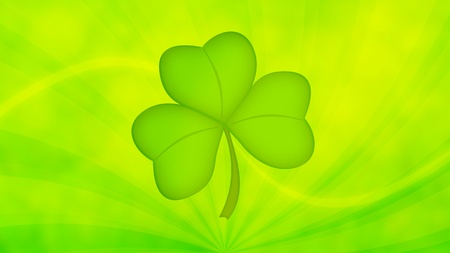St. Patricks Day Green Background
