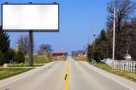 Big Metal Advertising Billboard Sign  photo