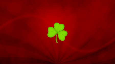 Shamrock Background Stock Photo - 13299918