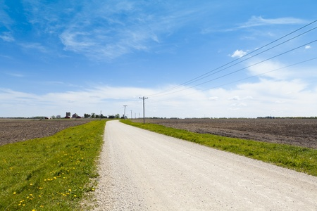 Country Road - Loose Gravel  photo