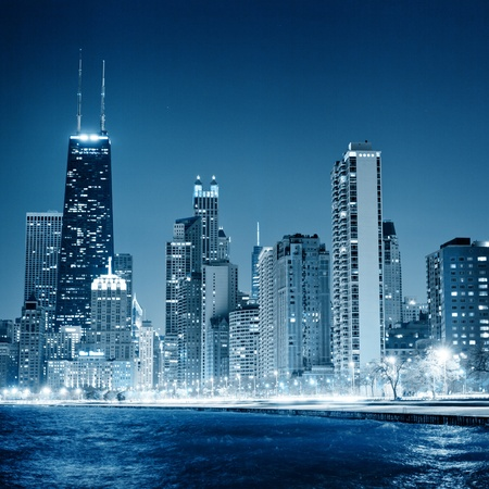 chicago skyline: Chicago