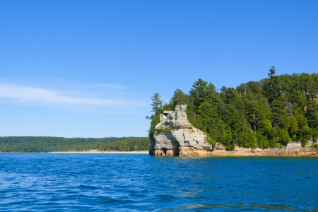 Pictured Rock Stock Photo - 13780060
