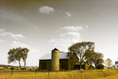 midwest usa: American Countryside - Vintage Design