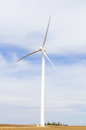American Countryside Wind farm photo