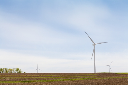 American Countryside Wind farm Stock Photo - 13780040