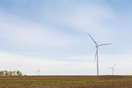 American Countryside Wind farm Stock Photo - 13780040