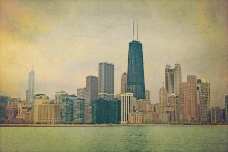 Vintage Chicago photo