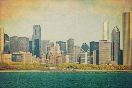 Vintage Chicago photo