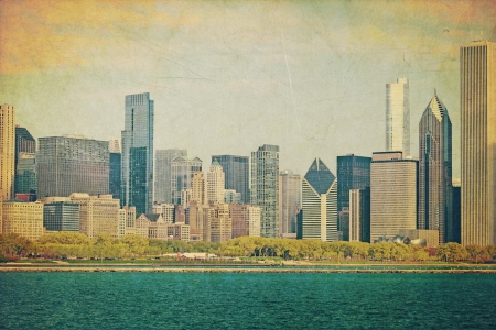 postcard: Vintage Chicago