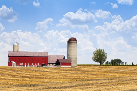 american midwest: American Countryside Drought