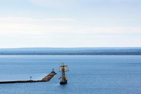 sailling: Ship Stock Photo
