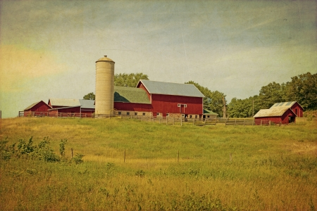 American Countryside - Vintage Design  photo