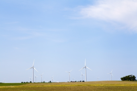 American Countryside With Windmill  photo