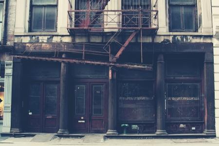 오래 된 건물 스톡 콘텐츠