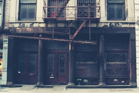 old new york: Old Building